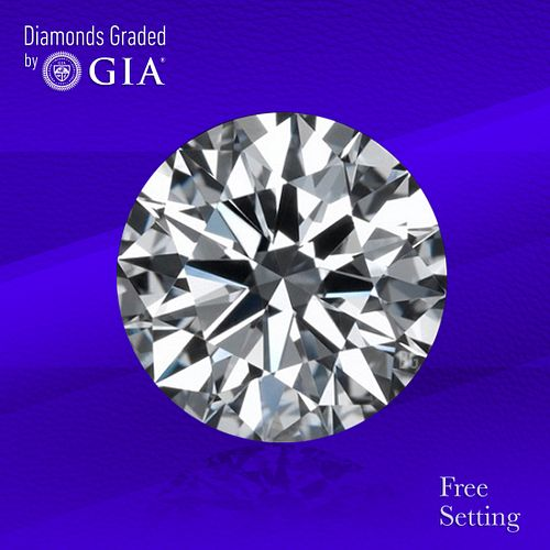 10.51 ct, G/VS2, Round cut GIA Graded Diamond. Unmounted. Appraised Value: $1,524,000