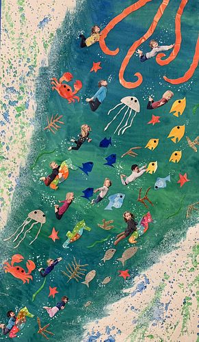 I Like to Be Under the Sea by Ms. Desiree McNeill's Class
