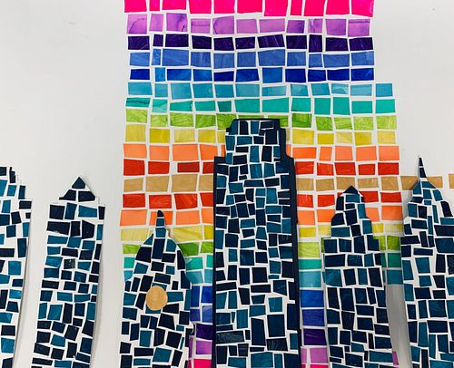 Our Rainbow City by Ms. Jamie Peteraf's and Ms. Maggie McCaffrey's Class