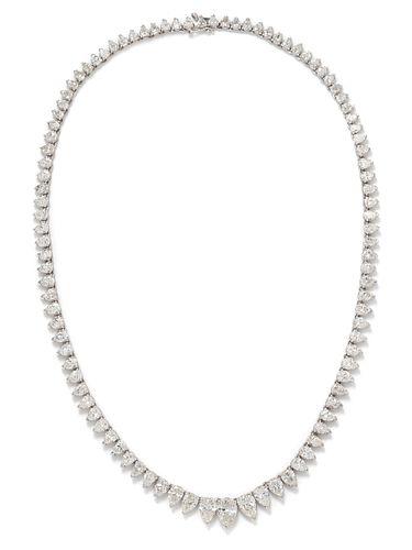 DIAMOND RIVIERE NECKLACE