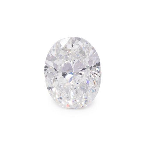 4.00 CARAT OVAL MODIFIED BRILLIANT CUT DIAMOND
