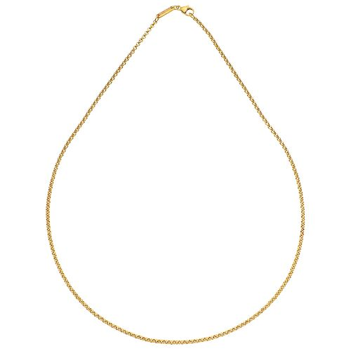 "CHOKER IN 18K YELLOW GOLD, CHOPARD Weight: 8.5 g. Length: 16.5"" (42.0 cm)"