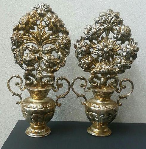 Pair of Flower Vases