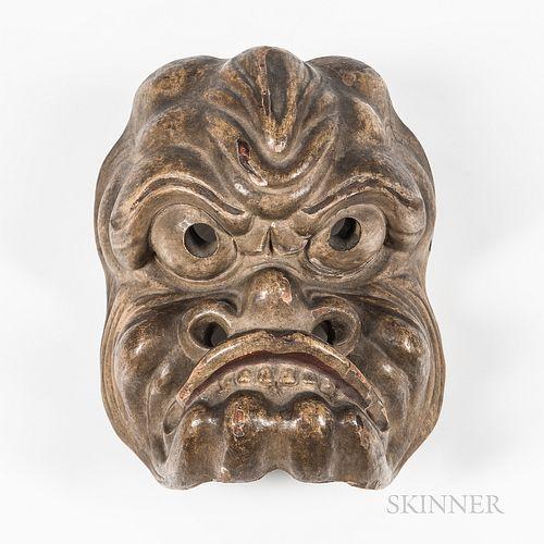 Japanese Theatre Noh Mask