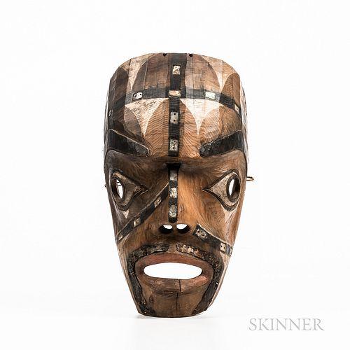 Northwest Coast Wood Mask