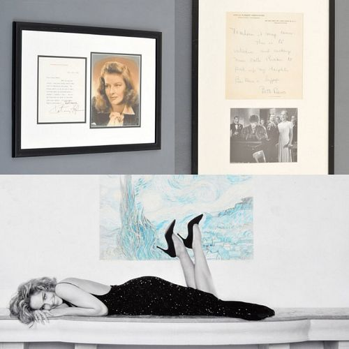 Celebrity Photos & Ephemera, Paige Rense Noland Estate
