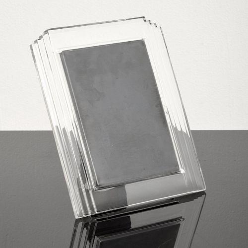 "Waterford ""Metropolitan"" Crystal Picture Frame, Paige Rense Noland Estate"