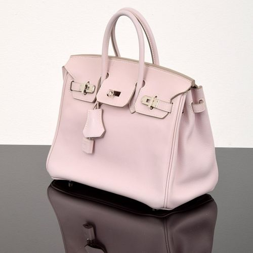 "Hermes ""Birkin 25"" Handbag, Paige Rense Noland Estate"