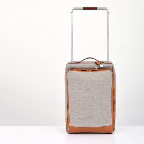 "Hermes ""Caleche-Express"" Rolling Suitcase, Paige Rense Noland Estate"