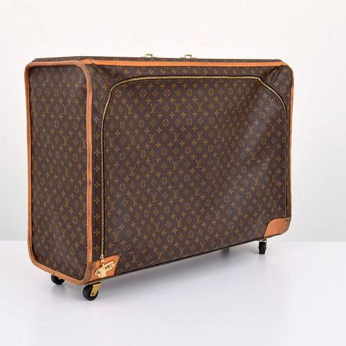 Large Louis Vuitton Monogrammed Suitcase