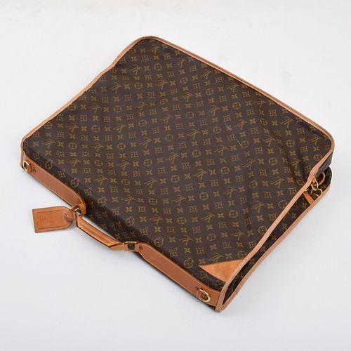 Louis Vuitton Monogrammed Garment Bag