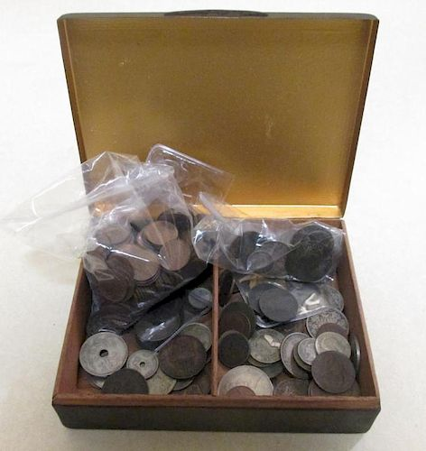 Small quantity of various old coins, including a few hammered silver of early date (mostly worn)