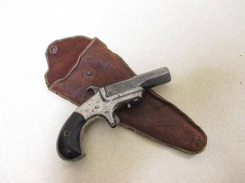 An XL Derringer pistol, rim fire, serial No 526