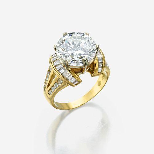 A diamond solitaire