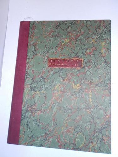 LE SAGE Genealogical Atlas, 1801, 4to, coloured maps and tables, some old staining, modern binding;