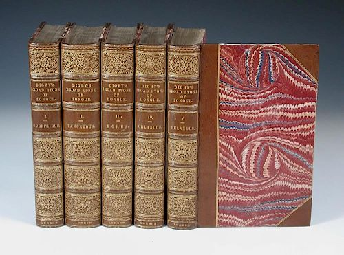 DIGBY (Kenelm) The Broadstone of Honour; or the True Sense and Practice of Chivalry, in five vols.,