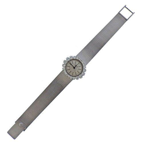 Patek Philippe 18k Gold Diamond Watch