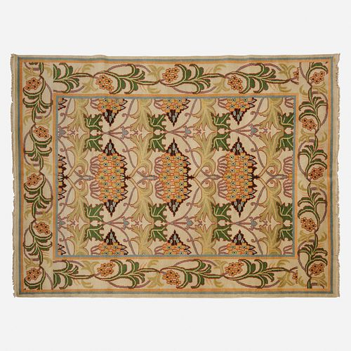 In the manner of William Morris, Medium pile carpet