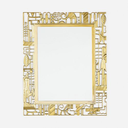 Karl Hagenauer, Art Deco wall-hanging mirror