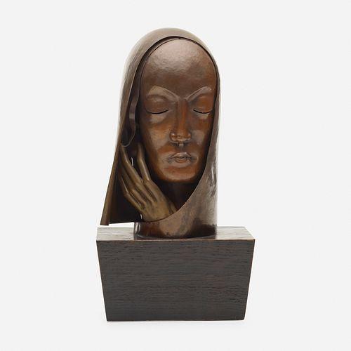 In the manner of Franz Hagenauer, Bust