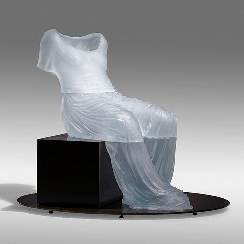Karen LaMonte, Semi-Reclining Dress Impression