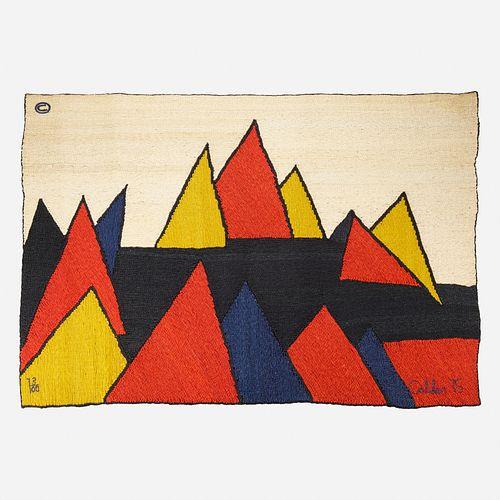 After Alexander Calder, Pyramids tapestry