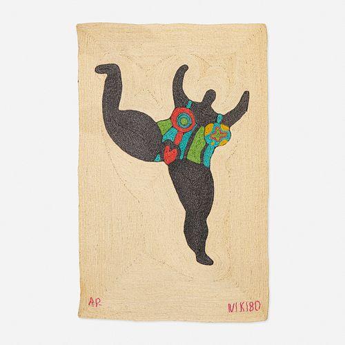 After Niki de Saint Phalle, Tapestry
