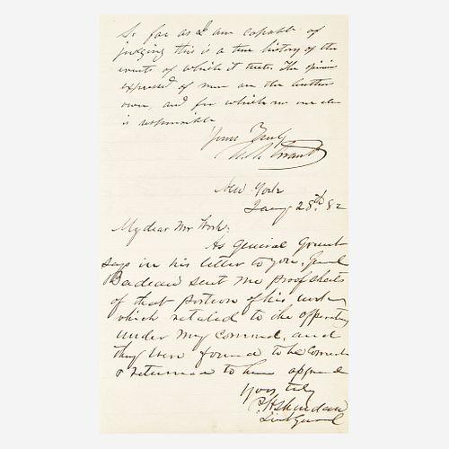 [American Civil War] [Grant, Sherman, and Sheridan] Badeau, Adam Military History of Ulysses S. Grant, From April, 1861, to April, 1865