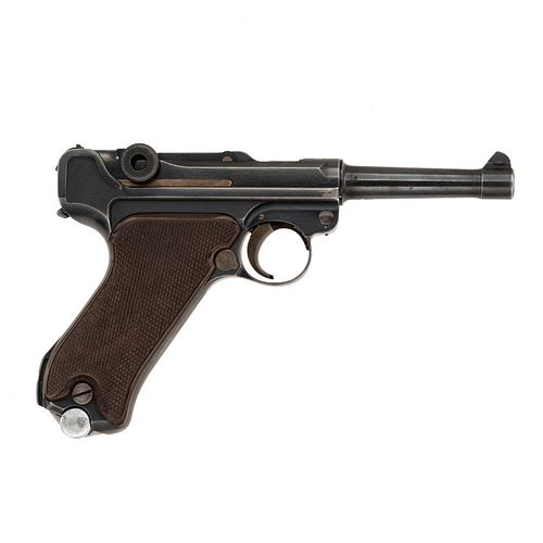 **1936 Dated Kreighoff Luftwaffe Contract P08 Luger Pistol with Holster