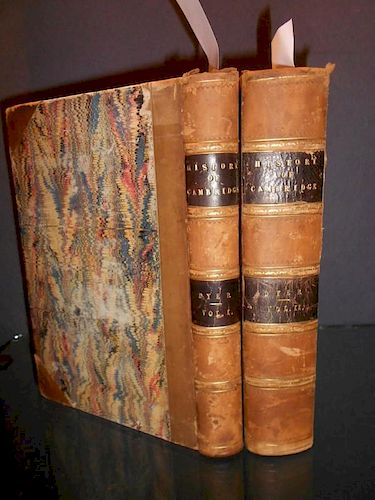DYER (George) History of the University and Colleges of Cambridge, in 2 volumes, London 1814, large