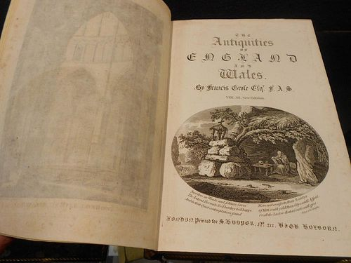 GROSE (Francis) The Antiquities of England and Wales, New Edition circa 1785, 8vo, in 8 vols, numero