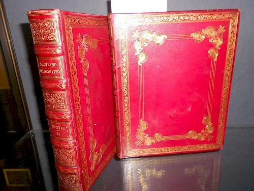 BEATTIE (William) Scotland, London: George Virtue 1838, 2 vols., 4to, engravings by Bartlett, Allom