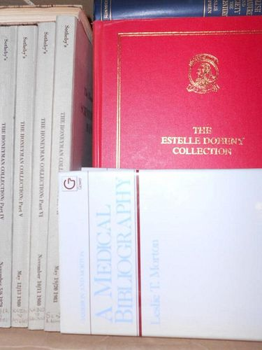 Bibliography, book reference, printing and related subjects, a quantity of works, mainly 20th centur