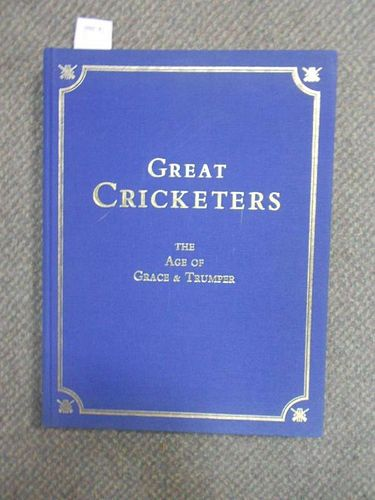 BELDAM (George) and Chevalier TAYLOR (illustrator), Great Cricketers, signed no.271/548, published 2