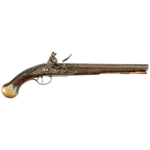 Rare British Pattern 1716 Royal Navy Long Sea Service Flintlock VAUGHAN Pistol