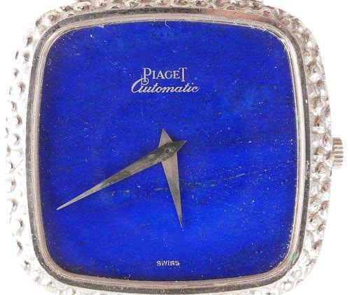 Vintage Piaget Automatic 18K & Lapis Ladies Watch