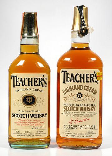 2 Bottles Sealed Teacher's Blended Scotch Whisky