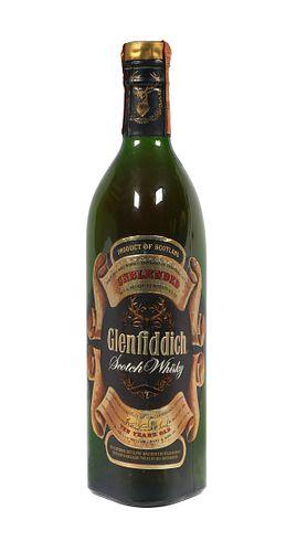 Sealed Glenfiddich Unblended Scotch Malt Whisky