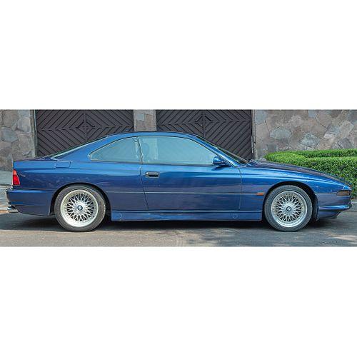 BMW. 840 Ci. Alemania. Año 1995. Color Azul. Transmisión automática. Con interiores de piel color azul , negro y madera. 10% Buyer's Premium