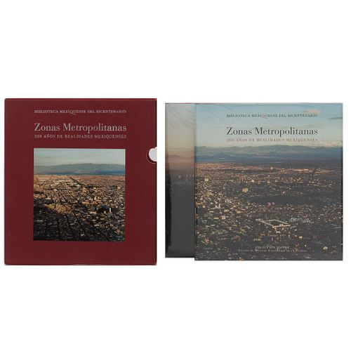 Gobierno del Estado de México. Zonas Metropolitanas. 200 años de Realidades Mexiquenses. México: Fondo Editorial Edomex. Pzas: 2.