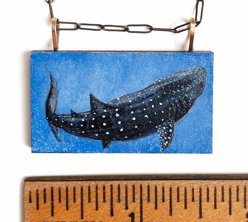 Whale Shark Pendant