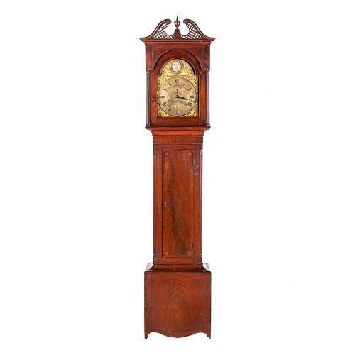 American Chippendale Tall Clock, Valentin Urletig