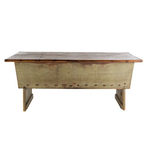 Primitive Painted Indiana Dry Sink
