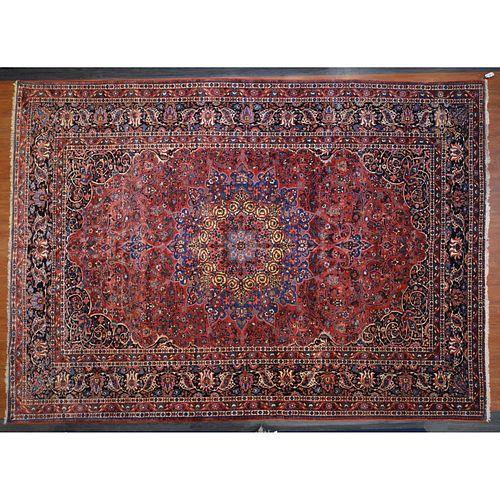 Bahktiari Carpet, Persia,13.4 x 17