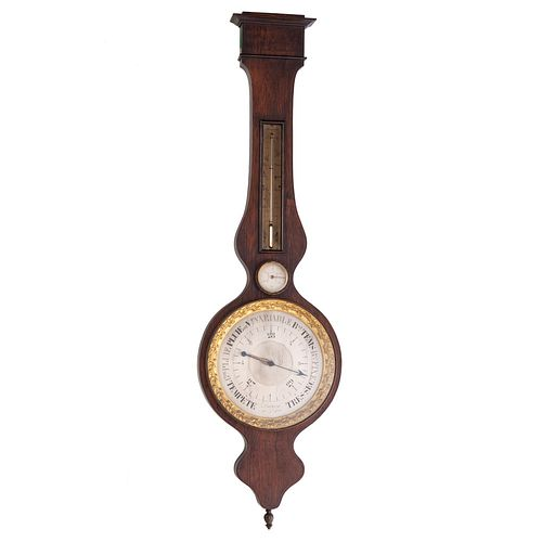 A French Wheel Barometer