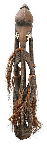 Papua New Guinea Carved Ancestral Figure