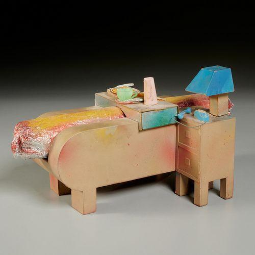Steve Gianakos, mixed media sculpture, 1973