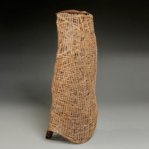Nagakura Kenichi, woven bamboo sculpture