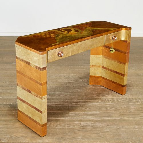 Isabel O'Neill, custom lacquered vanity