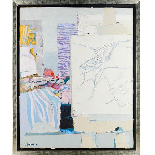 Gabriel Godard,  oil on canvas, 1971